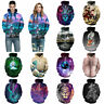 Men Women's Hoodie Sweater Sweatshirt 3D Print Jacket Coat Pullover Graphic Tops