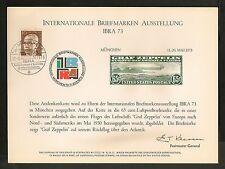Germany - Internationale Briefmarken Ausstellung - IBRA 73