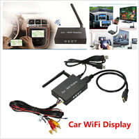 Universal Car WiFi Display Mirror Link Screen Converter Box for - Android IOS