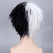 Danganronpa monokuma Black white Cosplay Anime party Hair Wig heat resistant