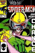 WEB OF SPIDER-MAN 15  Marvel N/M- NOS 1st App of The Foreigner Chance Powell