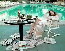 terry o'neill PHOTOGRAPHER FAYE DUNAWAY OSCAR ICONIC signed 10x8 photo