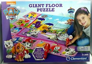 Paw Patrol Giant Floor Puzzle Clementoni New And Sealed (Torn Seal)