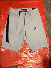 Nike 823365 072 Shorts Sportswear Bonded Men Khaki Golf CARGO PANTS SLIM NEW NWT
