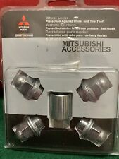 MITSUBISHI GENUINE ACCESSORIES WHEEL LOCKS NEW FREE  SHIPPING