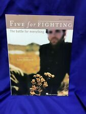 Five for Fighting The Battle for Everything Piano/Vocal/Guitar Sheet Music Book