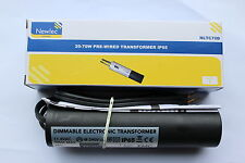 20 X Newlec NLTC70D Ip65 Electronic Dimmable Downlight Transformer 20-70vaselv