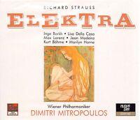 Strauss: Elektra/Mitropoulos, Der Zuhause, Lorenz, Horne, Madeira, 1957 - CD