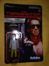 The Terminator T800 ReAction Figure Funko Carded Unpunched Cardback