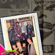 Unique 70s+ sEx PiStOls Punk Scrapbook No1, Johnny Rotten Sid Vicious Jamie Reid