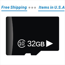 32GB Real Capacity Micro SD HC Class 10 Memory Card 🌟Fast Shipping * IN USA🌟
