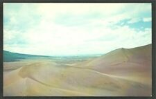 Great Sand Dunes National Monument Alamosa Colorado Chrome Postcard 1132