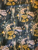 """Robert Allen Dwell Studio Modern Toile in Graphite 41"""" by 57"""" inches Fabric"""