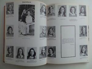 1973 La Serna High School Whittier California Original YEARBOOK Annual Pennon