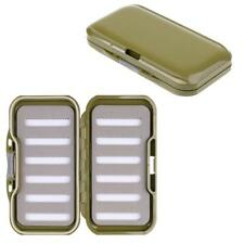 Fly Fishing Box Dry Fly Box Trout Fly Box Fishing Lure Case - Light Green