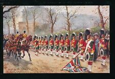 Artist HARRY PAYNE Gordon Highlanders Dipping Colours Tuck Oilette #3546F PPC