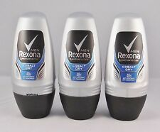 (7,77€/100ml) Rexona man Motionsense  Cobalt Dry  Deo Roller 3 x 50 ml Roll-On