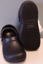 CROCS BISTRO SHOES BLACK SIZE MENS 10 - WOMENS 12