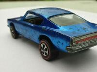 1967 1968 Hot Wheels Redline Blue Custom Barracuda