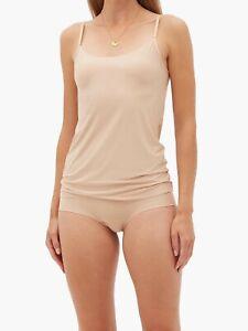 New Women's COMMANDO Beige Butter Stretch Micro Modal Camisole Size S