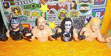 WWE WCW Thumb figure wrestling TNA RARE Sting Goldberg Macho Man Lex Luger Lot