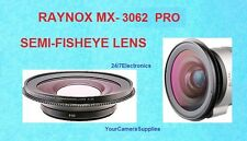 Raynox MX-3062 PRO Fisheye 0.3X WIDE ANGLE CONVERSION LENS 62mm HIGH VISION