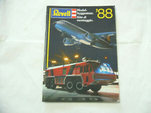CATALOGO CATALOGUE REVELL  1988 PAGINE N.98