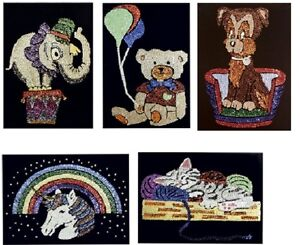 Pinflair Sequin Picture Kit - ANIMALS