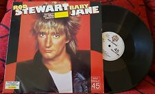 "ROD STEWART **Baby Jane** VERY RARE 12"" SINGLE Spain 1983 LIMITED EDITION #03198"