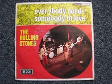 The Rolling Stones-Everybody needs Somebody to Love 7 PS-1965 France-Rock-DECCA