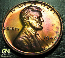 1942 P Proof Lincoln Cent Wheat Penny  --  MAKE US AN OFFER!  #O4613