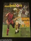 DON BALON 659 EUROPA PSV EINDHOVEN-REAL MADRID POSTER CAMPEON 87-88 - PLATINI