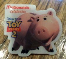 Mcdonald'S Service Award Hat Lapel Pin  Toy Story 2 Piggy Bank