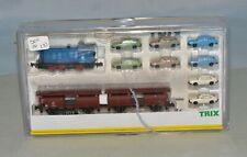 N Scale minitrix 11603 Auto Manufacturer Train Set w/ V 36 Diesel Locomotive DCC