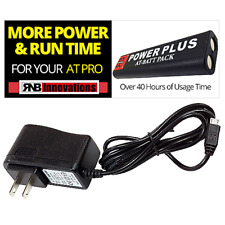 Rnb Power Plus Rechargeable Battery Pack for Garrett At Pro,Max,Gold w/ Charger
