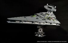 Display stand 3D angled for Lego 6211/75055 Star Destroyer -Imperial (Star Wars)
