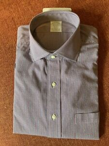 NEW W Tags Brooks Brothers MILANO Men's Button Down Dress Shirt sz 15 1/2 35