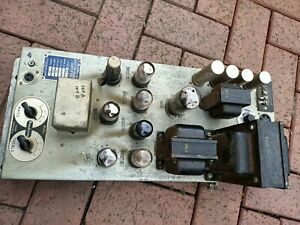 Seeburg 100A or 100B jukebox  amplifier model no. MRAl-L6, untested