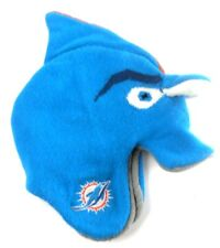 Miami Dolphins NFL Rush Zone Toddler Size 2T - 4T Knit Fleece Winter Hat Cap