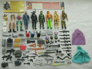 1980s Action Figure Accessory Lot Gun Part Piece Z Force A-Team Transformer TMNT