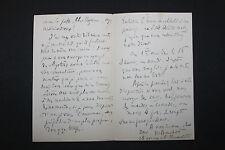 8 LAS Maurice Bouchor à Octave Uzanne Lettres autographes 1889 1890 1892 ...1894
