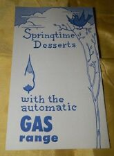 Circa 1950's Amere Gas Utilities Company Advertising Flyer