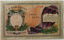 More details for 1949 c.f. barcelona - bodas de oro - juan gamper trohy - rare match ticket