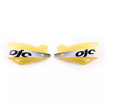 OJC COPPIA PARAMANI HANDGUARDS SHARK UNIVERSALI GIALLO YELLOW BETA