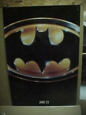 BATMAN, orig rolled GLOSSY advance 1-sht / movie posters - UV coated