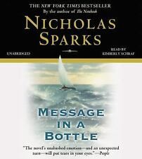 Message in a Bottle by Nicholas Sparks (2015, CD, Unabridged)