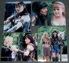 SET OF FOUR,XENA,LUCY LAWLESS 10 x 8 PHOTO'S,BARGAIN LOT.FREE POSTAGE! 43