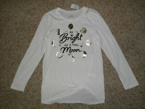 JUSTICE Bright as a Full Moon Top Size 12~ NEW!
