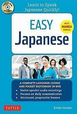 Easy Japanese: Learn to Speak Japanese Quickly! (Japanese Dictionary, Manga Co..