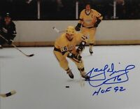 Marcel Dionne Hand Signed Autographed 8x10 Photo Los Angeles Kings Blue Ink HOF